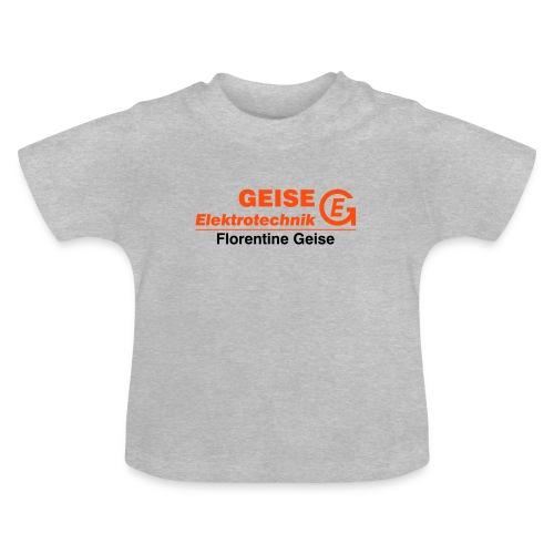 GE Logo Text Florentine - Baby T-Shirt