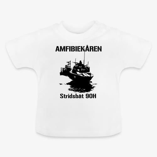Amfibiekåren - Stridsbåt 90H - Baby-T-shirt