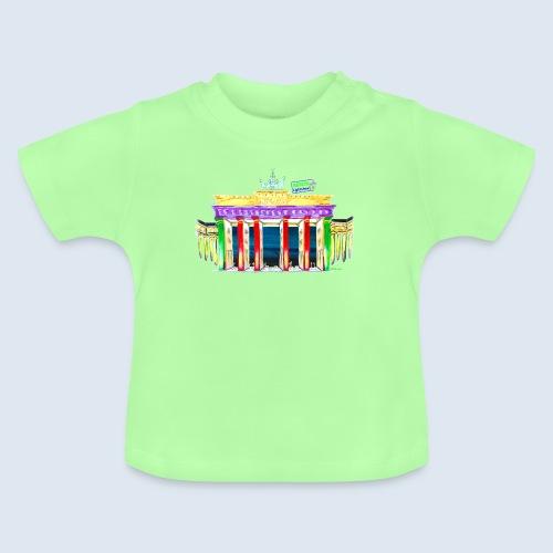 "Berlin ""Brandenburger Tor"" PopArt Design - Baby T-Shirt"