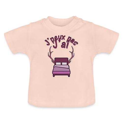 Je peux pas j'ai Lit Corne (Licorne) - T-shirt Bébé