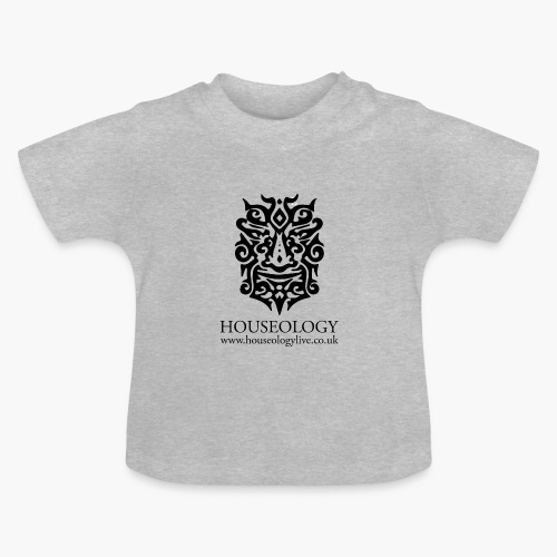 Houseology Official - black - Baby T-Shirt