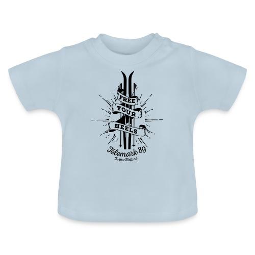 FreeYourHeels_merge - Vauvan t-paita