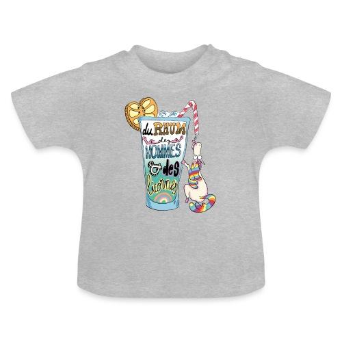 Du Rhum et des Licornes ! - T-shirt Bébé