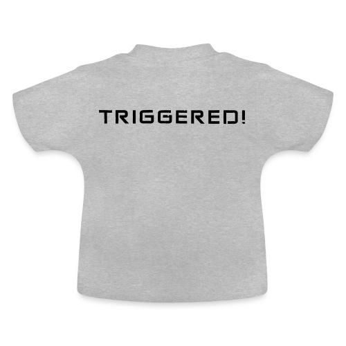 Black Negant logo + TRIGGERED! - Baby T-shirt