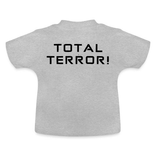 Black Negant logo + TOTAL TERROR! - Baby T-shirt
