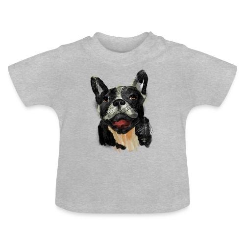 French Bulldog Portrait - lebendig und urban - Baby T-Shirt
