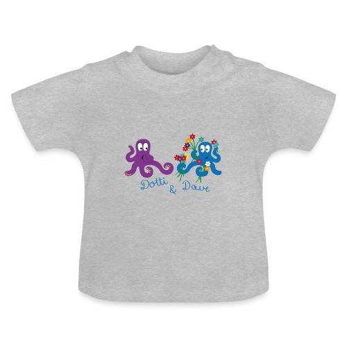 Kraken Liebespaar - Baby T-Shirt