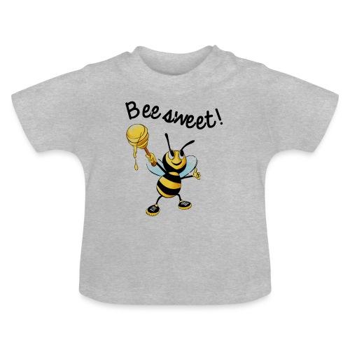 Bees7-2 Bienen sind süß | save the bees - Baby T-Shirt