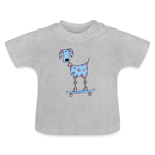 afbeelding skatehondokok - Baby T-shirt
