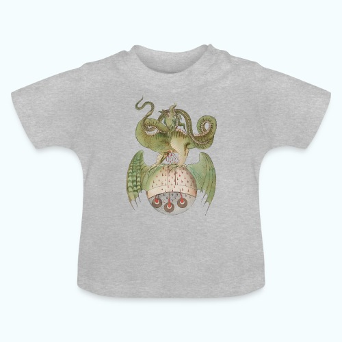 Middle Ages Dragon - Baby T-Shirt