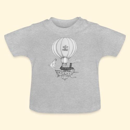 Bateau volant steampunk - Le Haut de France - T-shirt Bébé