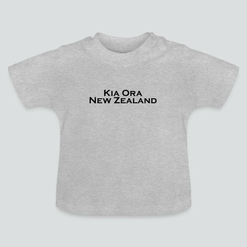Kia Ora New Zealand black - Baby T-Shirt