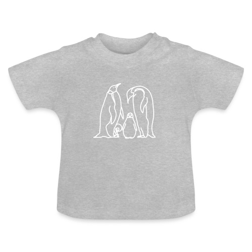 Pinguin Familie Familienshirt Tierfreunde Geschenk - Baby T-Shirt