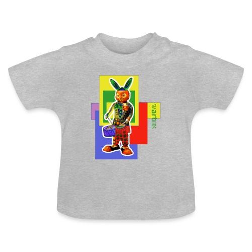 smARTkids - Slammin' Rabbit - Baby T-Shirt