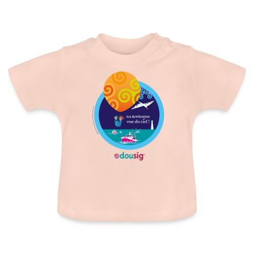 DOUSIG balade en ballon en Bretagne - T-shirt Bébé