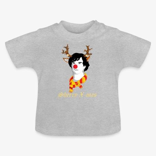 Sherlock Holmes reindeer editie - Baby T-shirt