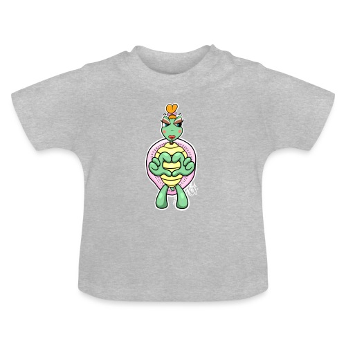Girlie Turtle/ Schildkröte - Baby T-Shirt