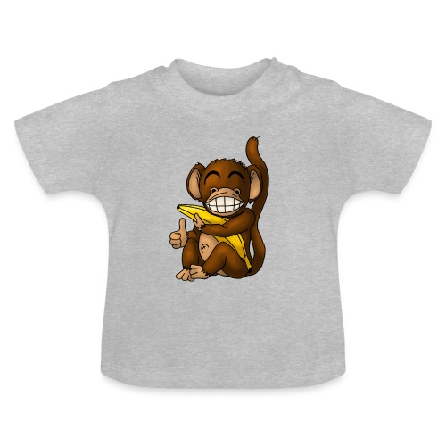 Super Fröhlicher Affe - Baby T-Shirt