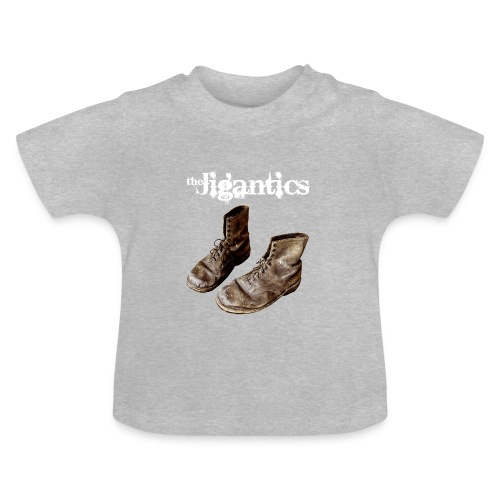 The Jigantics boot logo - white - Baby T-Shirt