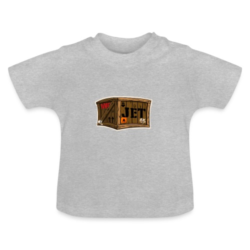 Jet Cartoon Wood Box - Baby T-Shirt