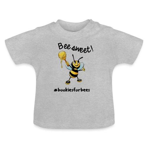 Bees7-1 Bienen sind süß | save the bees - Baby T-Shirt
