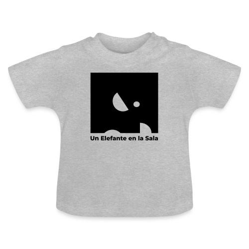 Logo Elefante Negro - Camiseta bebé