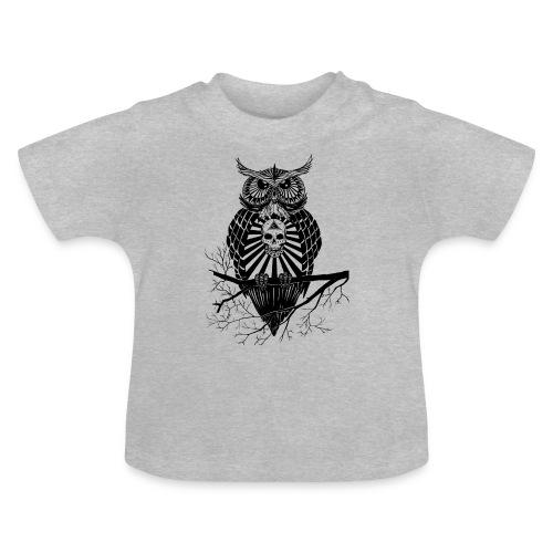 Hibou Psychédélique - T-shirt Bébé