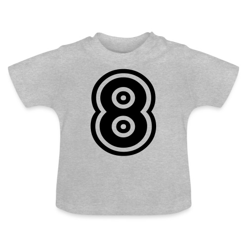 cool number 8 - Baby T-shirt