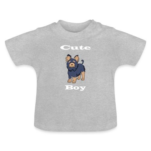 Hund Weiß - Baby T-Shirt