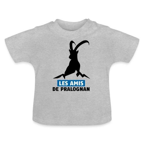 Logo Les Amis de Pralo grand noir - T-shirt Bébé