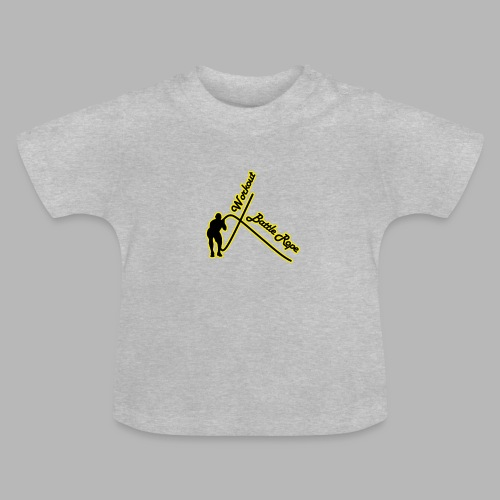 Battle Rope Workout - Baby T-Shirt