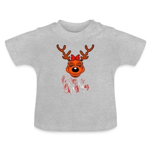 Happy Christmas without Ears - Baby T-Shirt