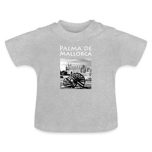 Palma de Mallorca mit Cathedrale Heiligen Maria - Baby T-Shirt
