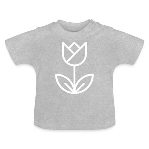 Tulip white png - Baby T-Shirt