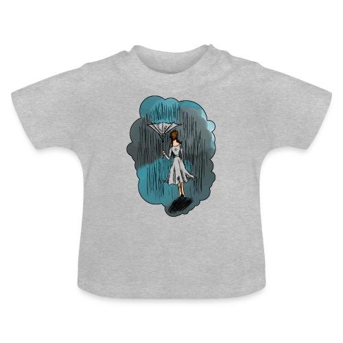 Upside Down Umbrella - Baby T-Shirt