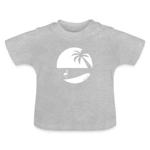 Logo French Floridian blanc - T-shirt Bébé