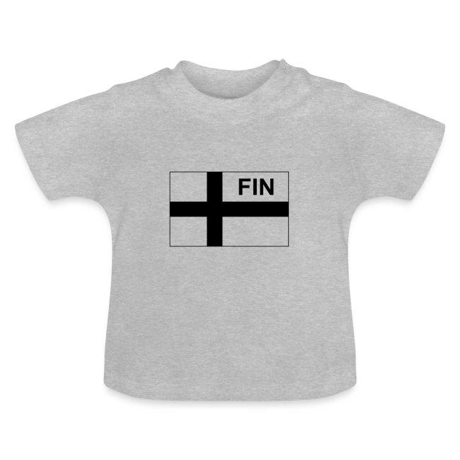 Finnish Tactical Flag FINLAND - Soumi - FIN