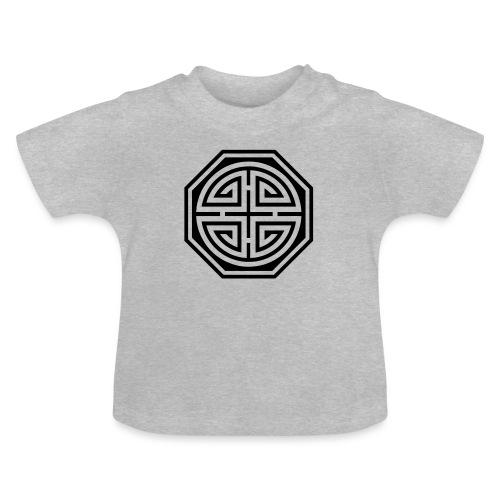 Chinesisches Glücks Symbol, Four Blessings, Segen - Baby T-Shirt