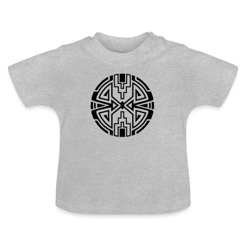 Indianer Kreis Symbol Pfeil Diamant Konzentration - Baby T-Shirt