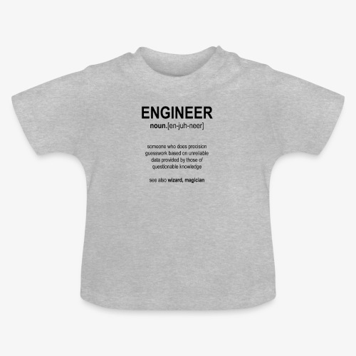 Engineer Def. 1 (Black) - T-shirt Bébé
