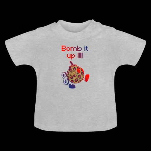Bomb It Up : Red Power !!! - T-shirt Bébé