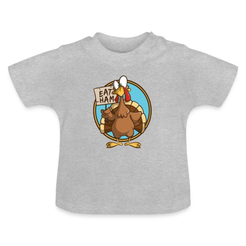 Truthahn Pute Weihnachten Thanksgiving - Baby T-Shirt