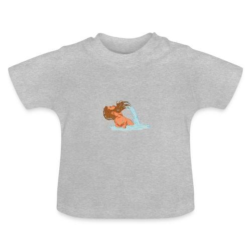 Bart Welle - lustiges Geschenk für Männer mit Bart - Baby T-Shirt