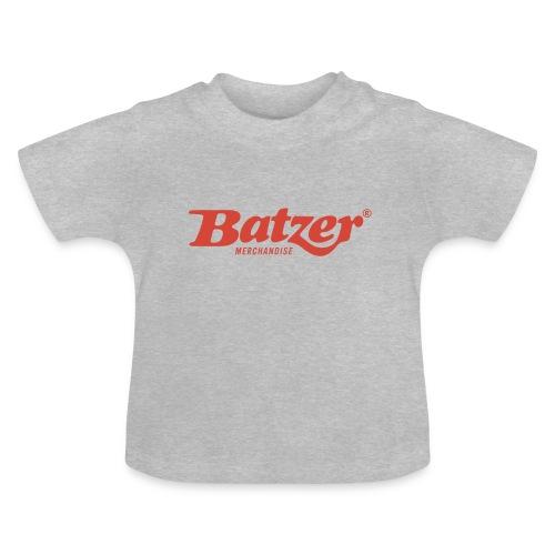 Batzer logo Rood - Baby T-shirt