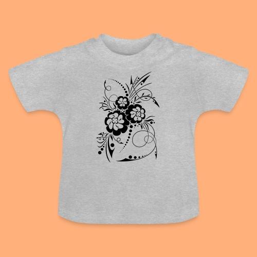 exposion florale - T-shirt Bébé