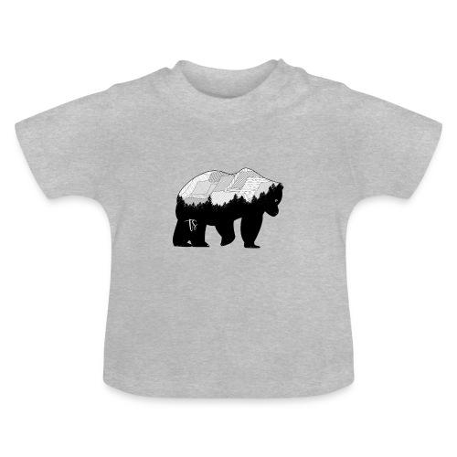 Geometric Mountain Bear - Maglietta per neonato
