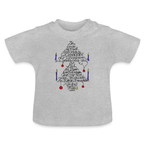 Tannenbaum Spruch - Baby T-Shirt