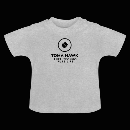 Toma Hawk - Pure Techno - Pure Life Black - Baby T-Shirt