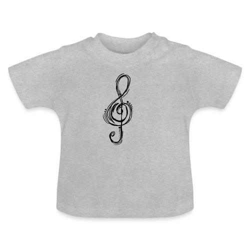 Violinschlüssel - Baby T-Shirt