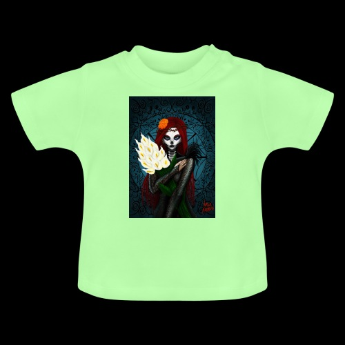 Death and lillies - Baby T-Shirt
